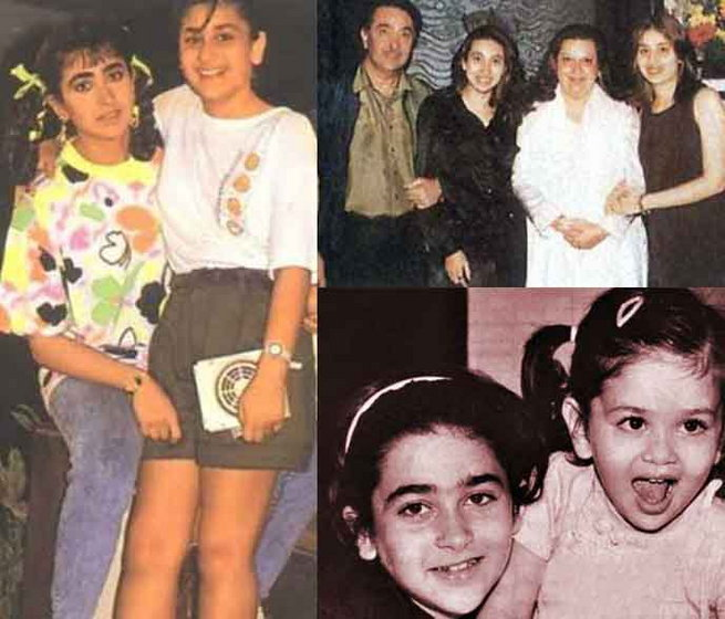 karishma kapoor and kareena kapoor childhood photos www